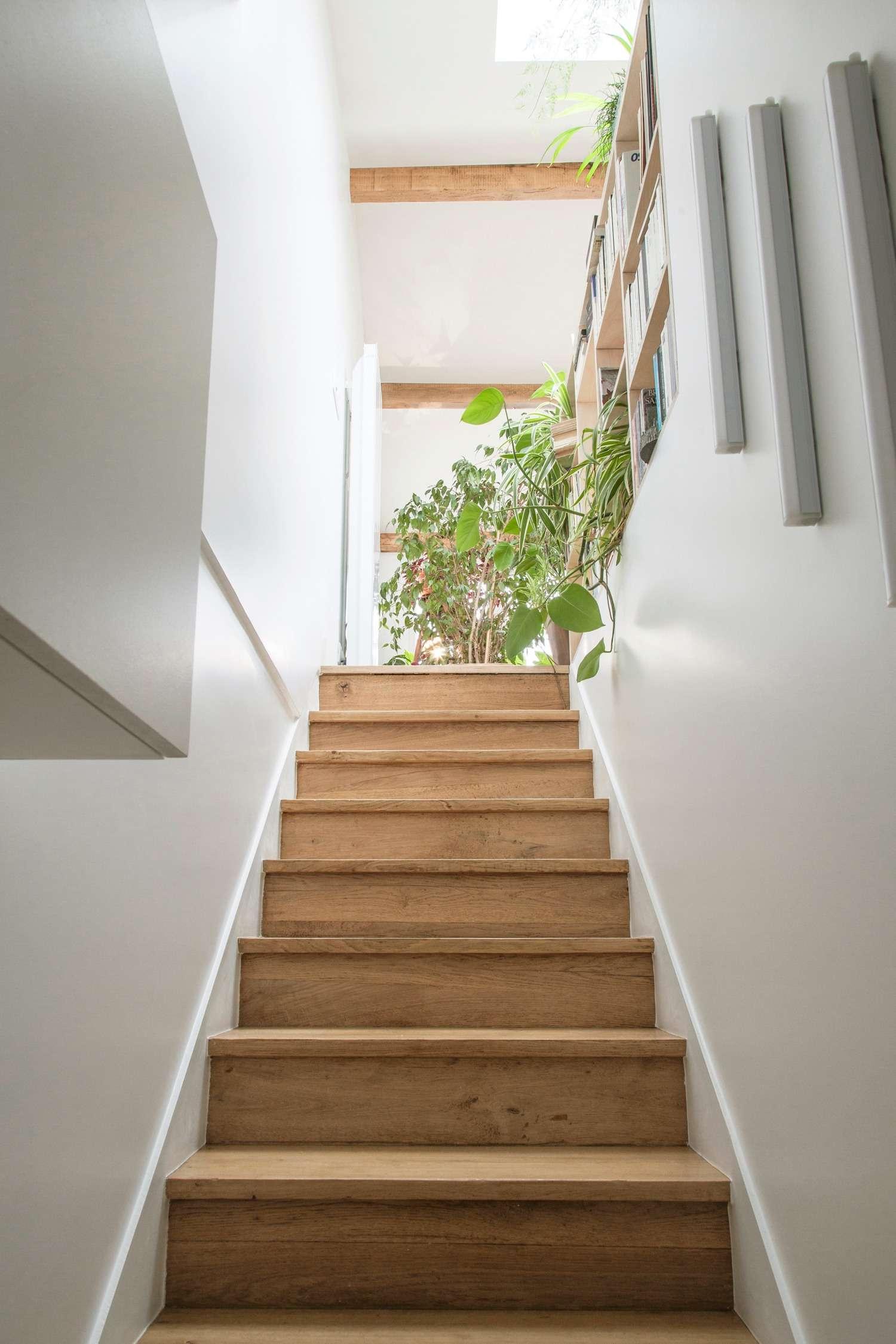 L'escalier d'entrée