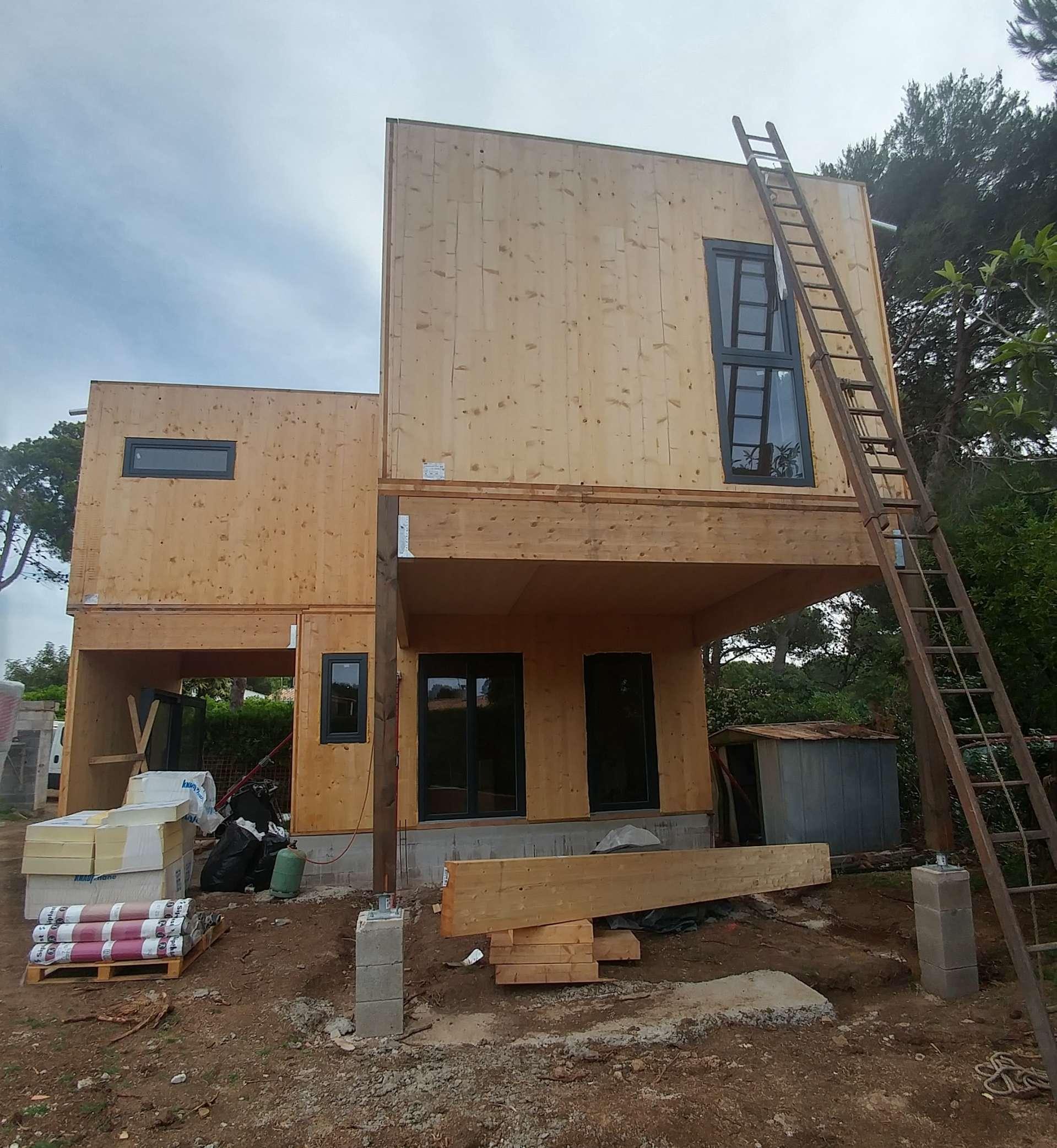 Vue chantier en cours