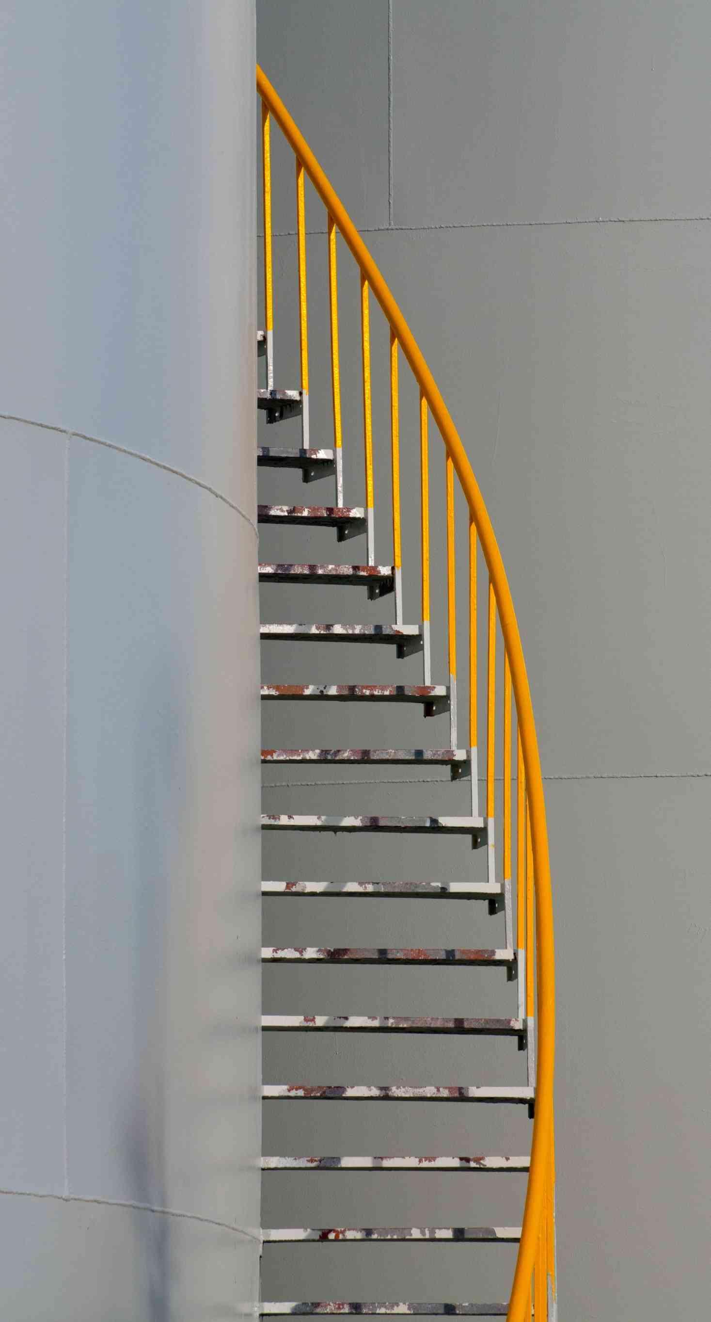 Escaliers metallique
