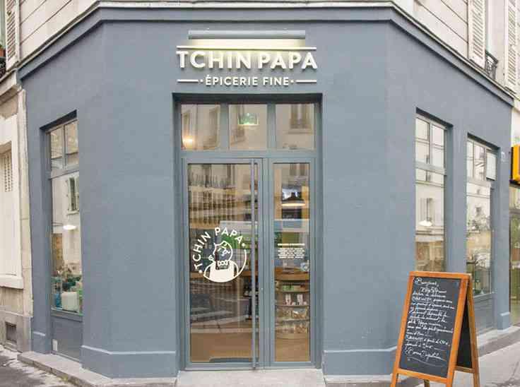 Tchin Papa - rénovation boutique