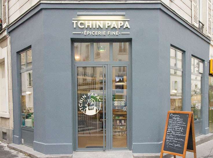 Tchin Papa - rénovation boutique