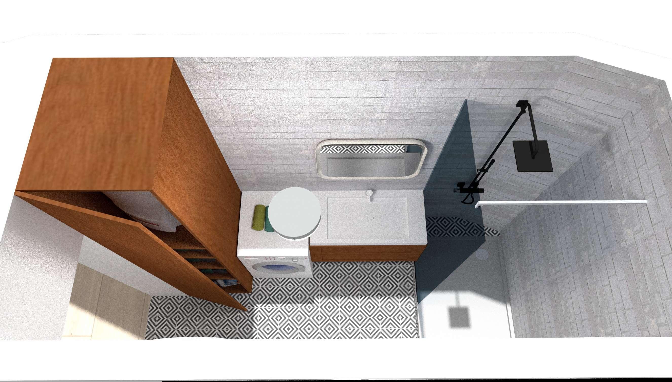 Vue salle de bain