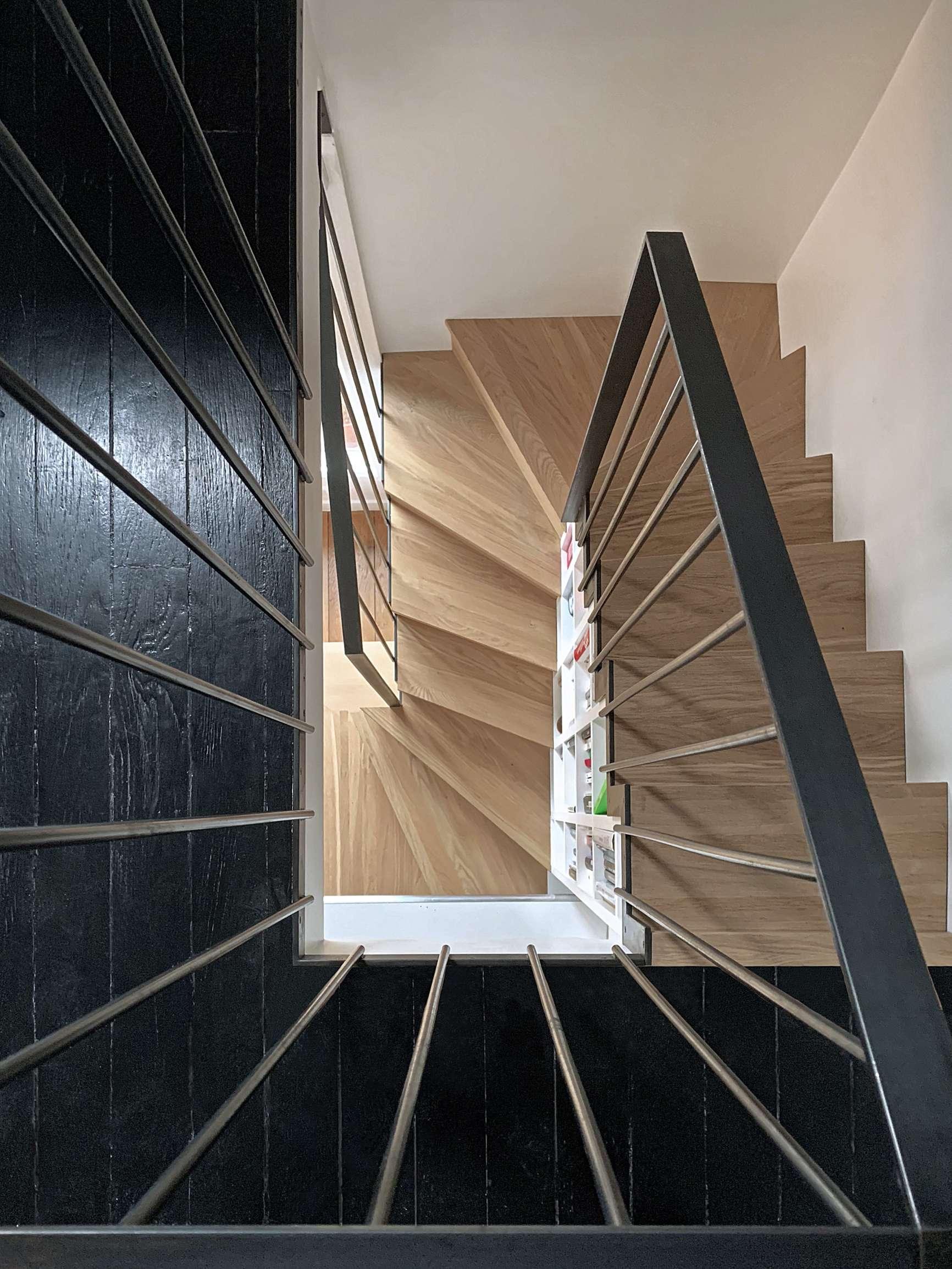 Un escalier compact
