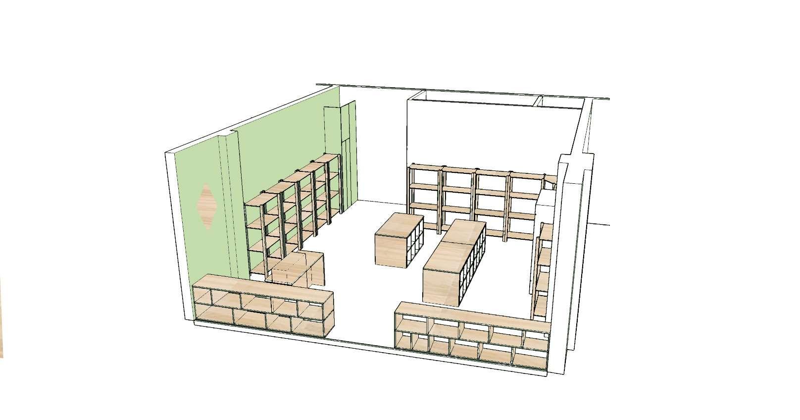 Perspective du projet - Maquette