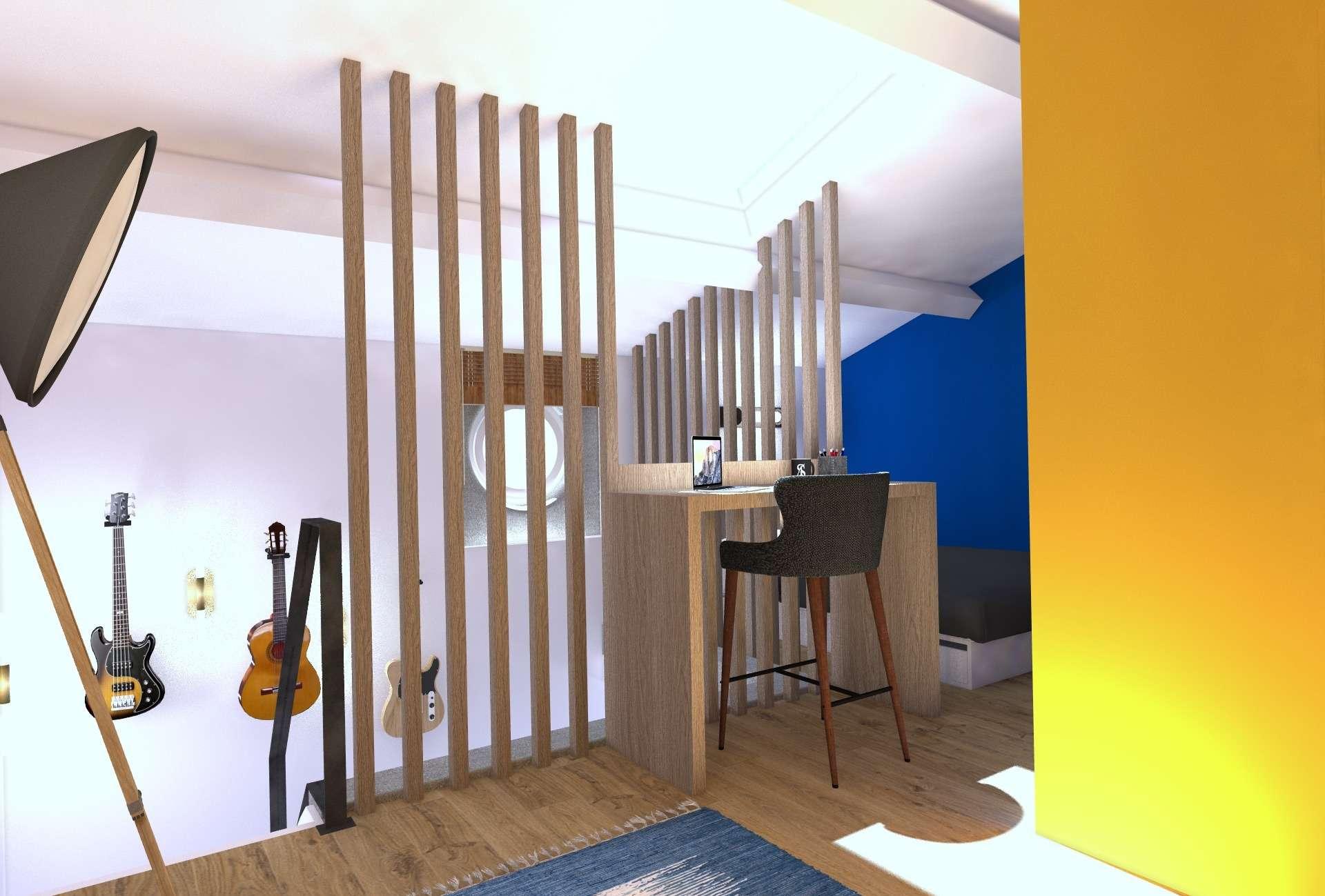 Mezzanine / Espace bureau