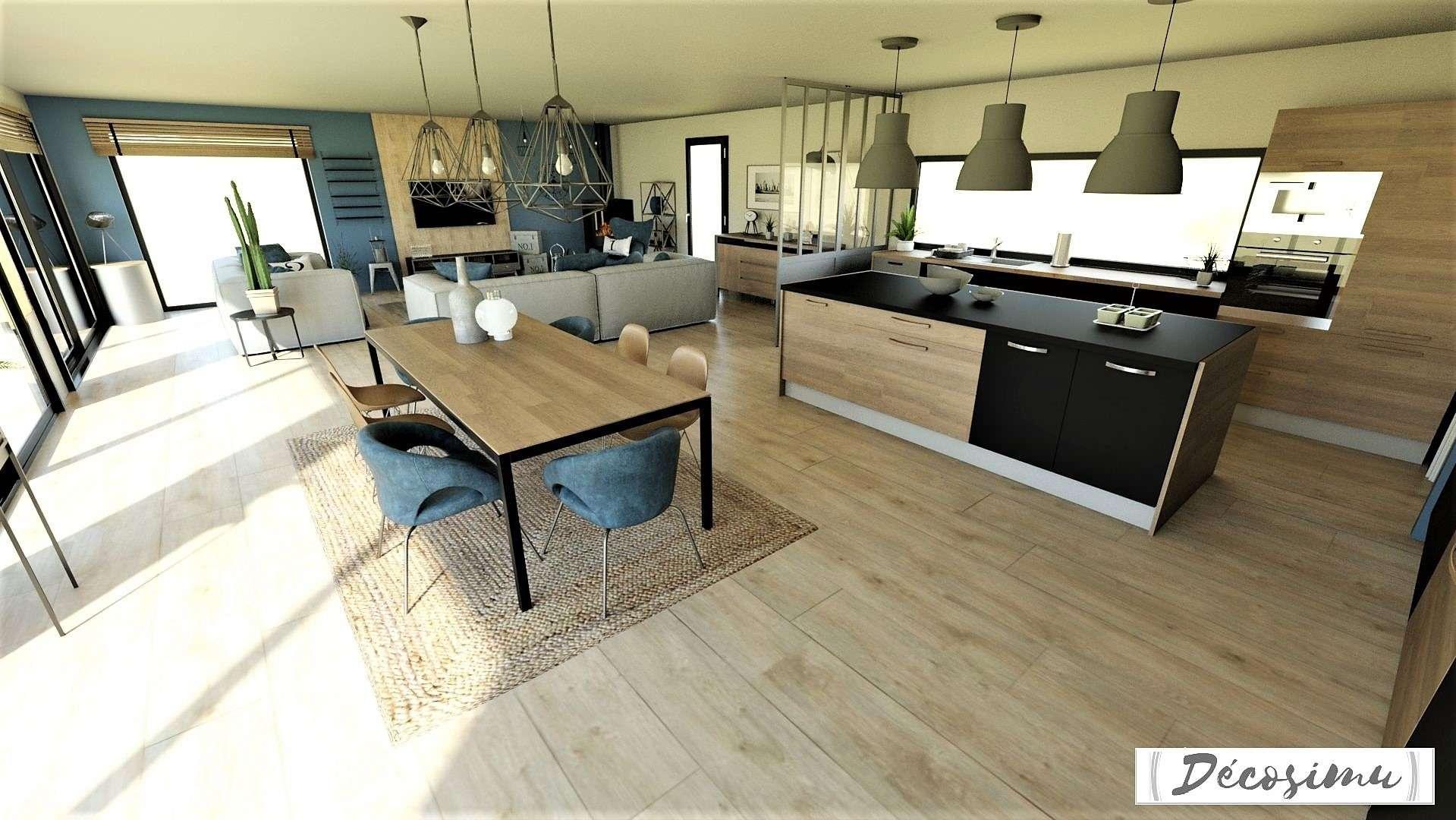 Création, agencement et décoration d'une séjour