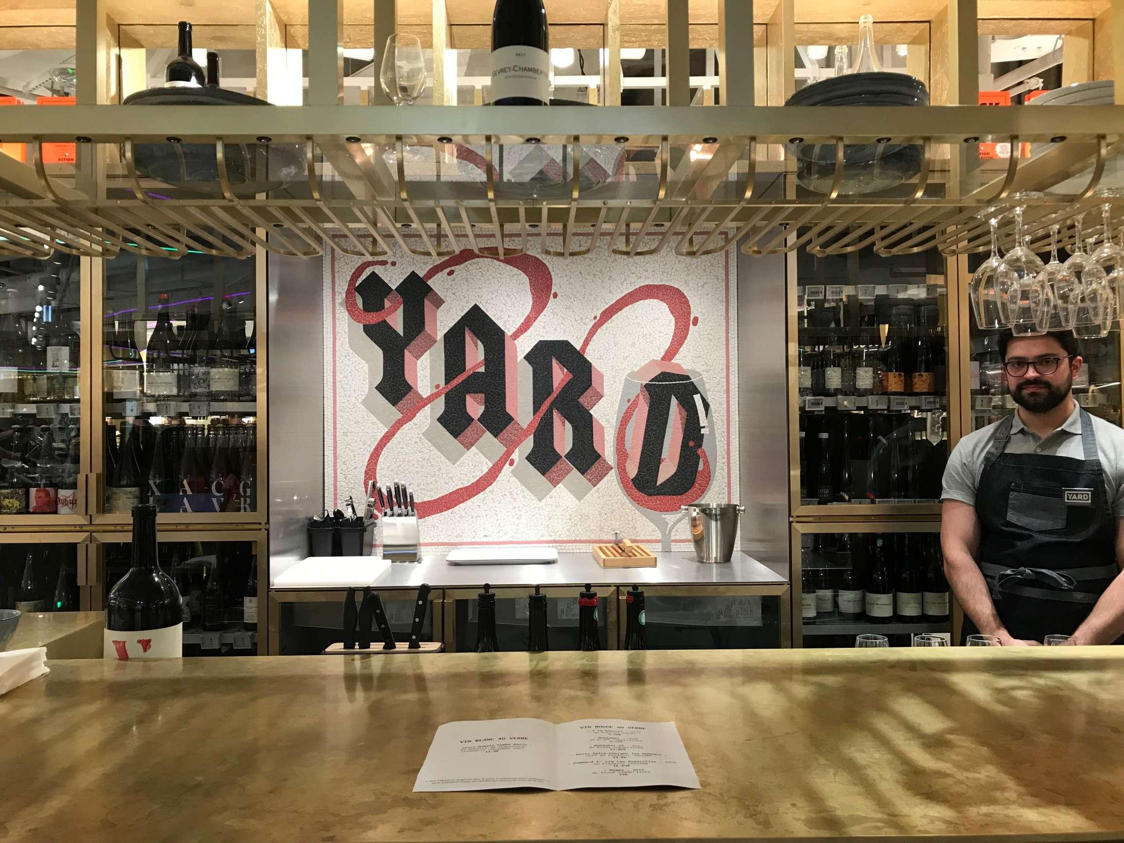 YARD - Bar à vin, Galeries Lafayette Champs-Élysées