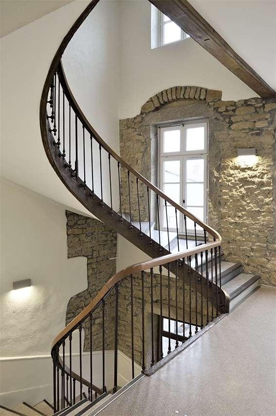 Rénovation de l'escalier d'honneur