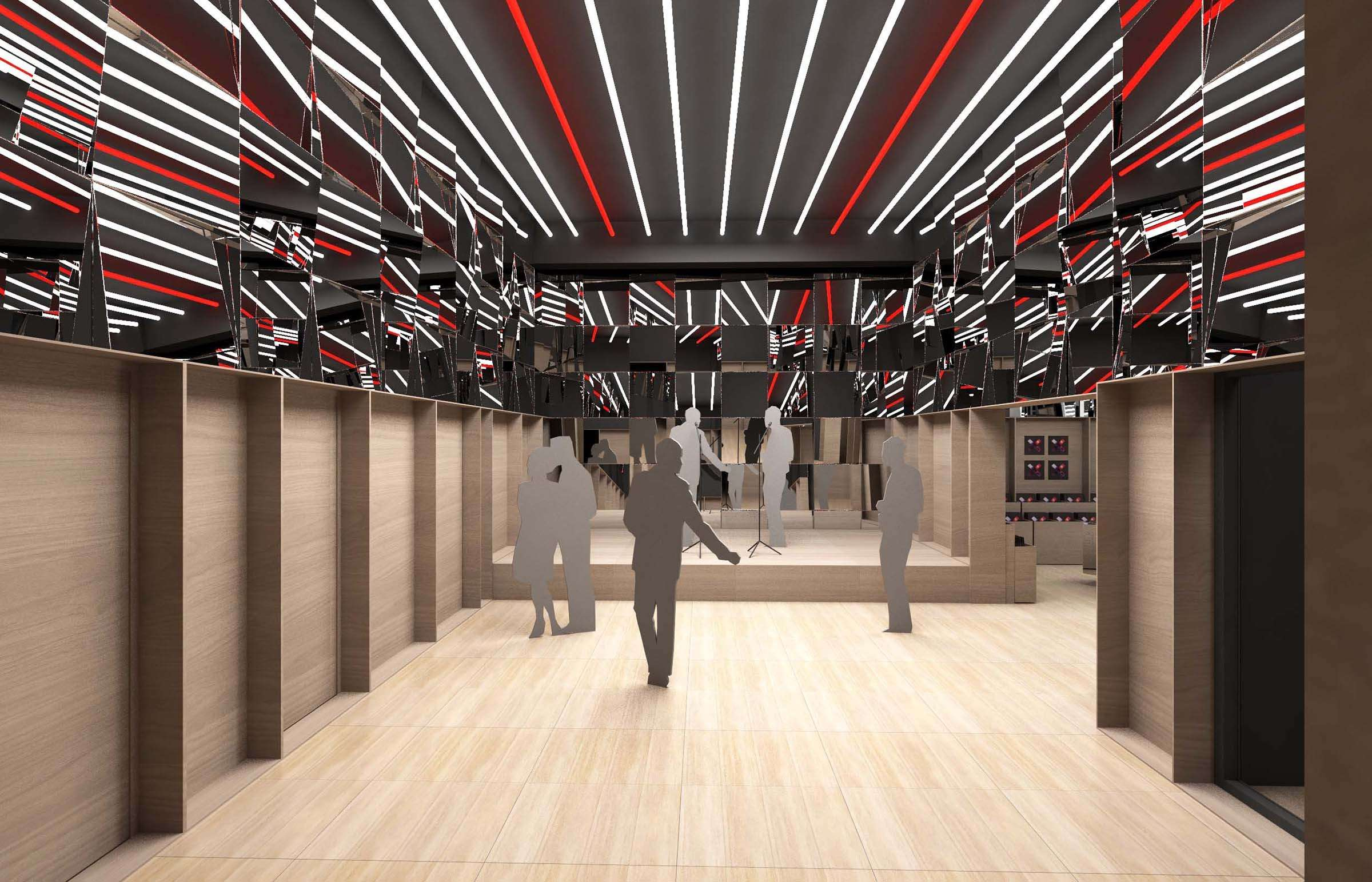 Salle de Showcase