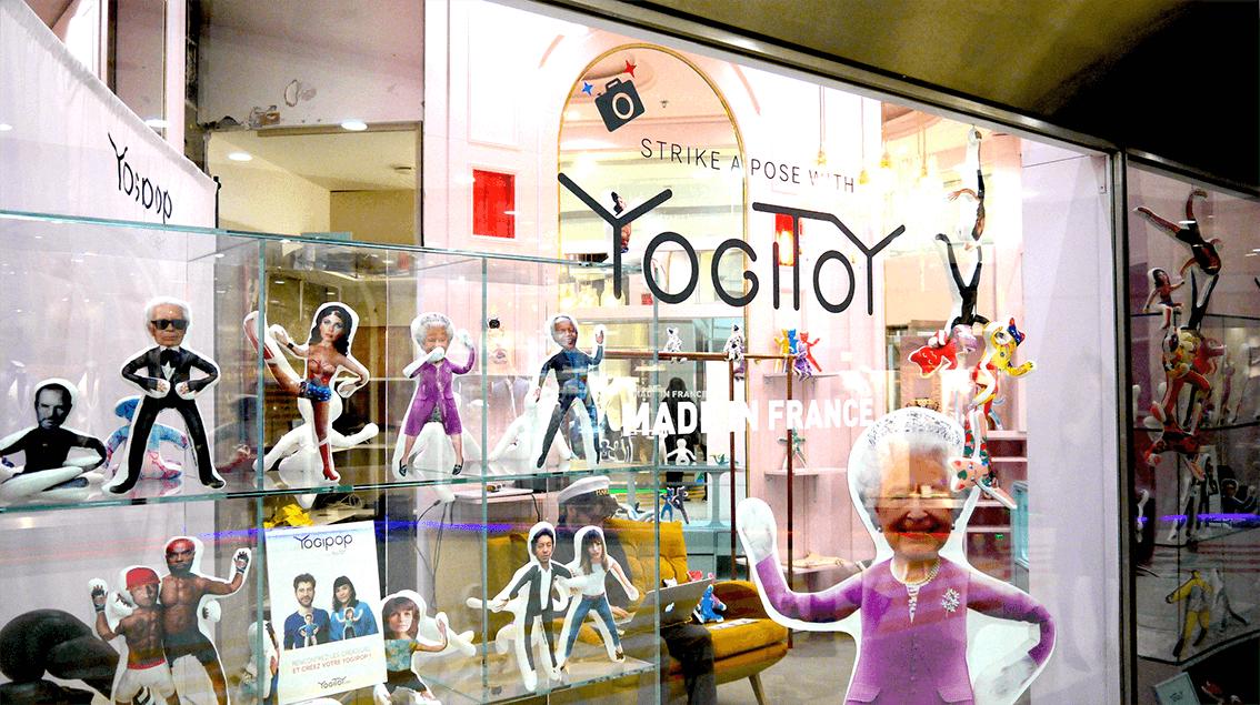 Pop-up store YogiToy - 1