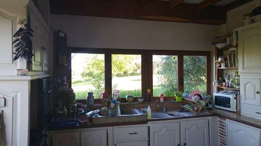 photo avant travaux; ancienne cuisine