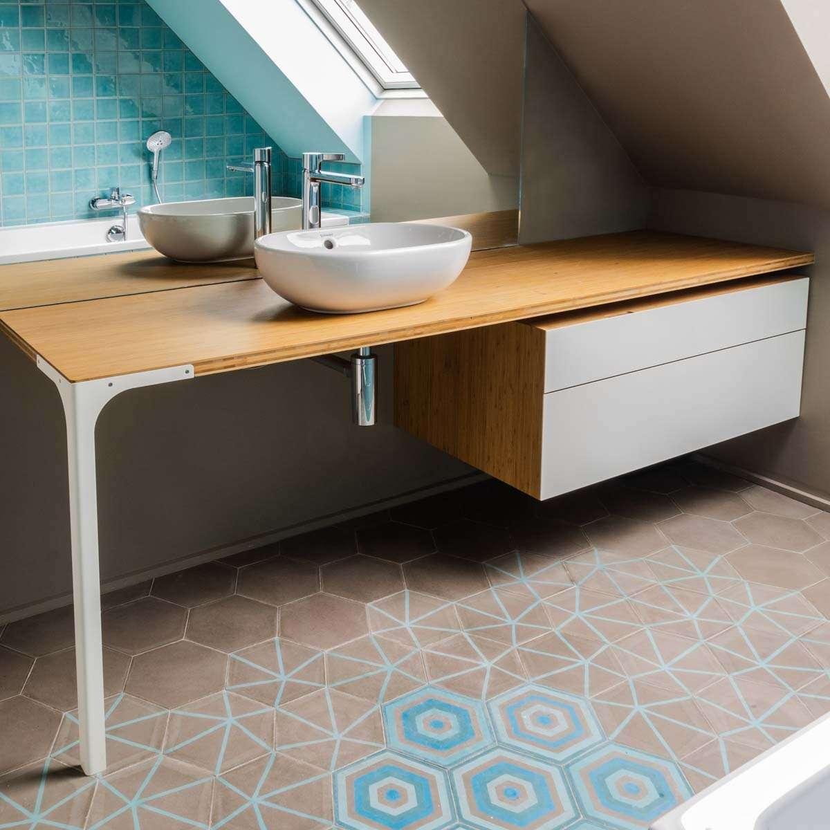 Meuble de salle de bain HOP sur mesure