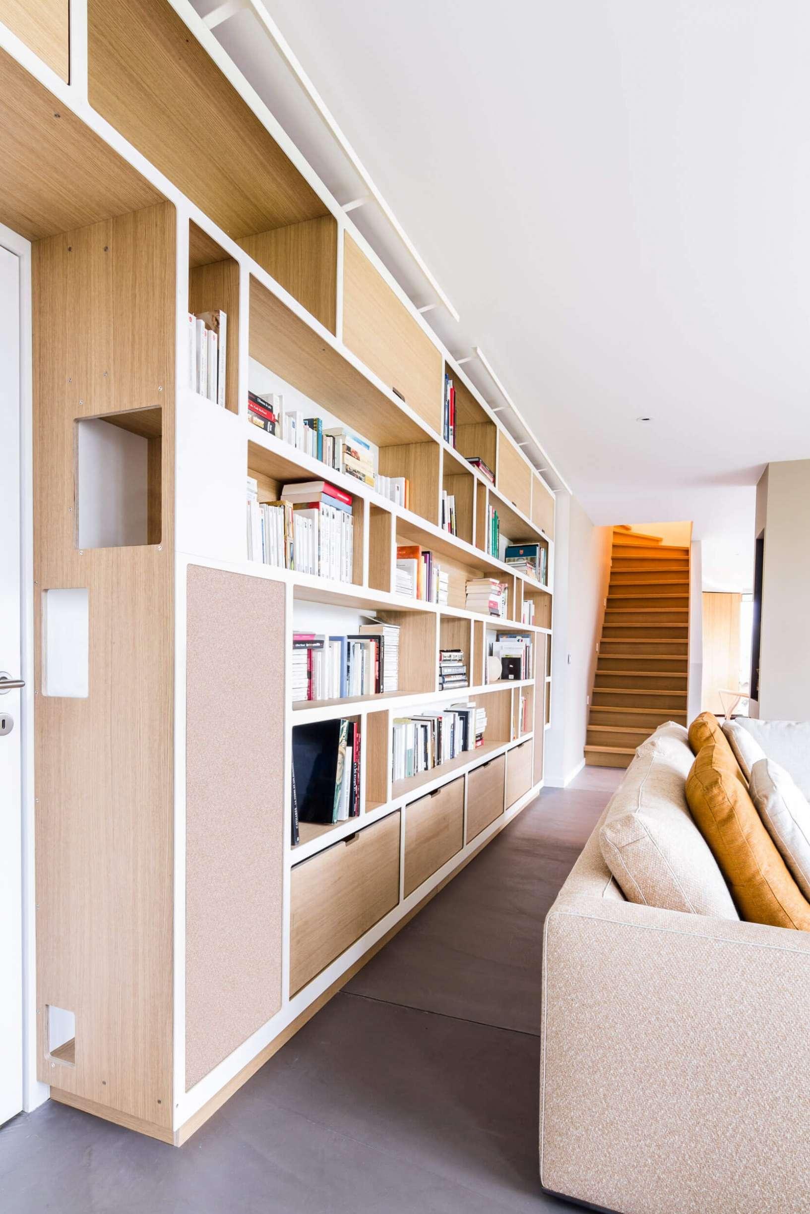 Bibliothèque PÔ sur-mesure