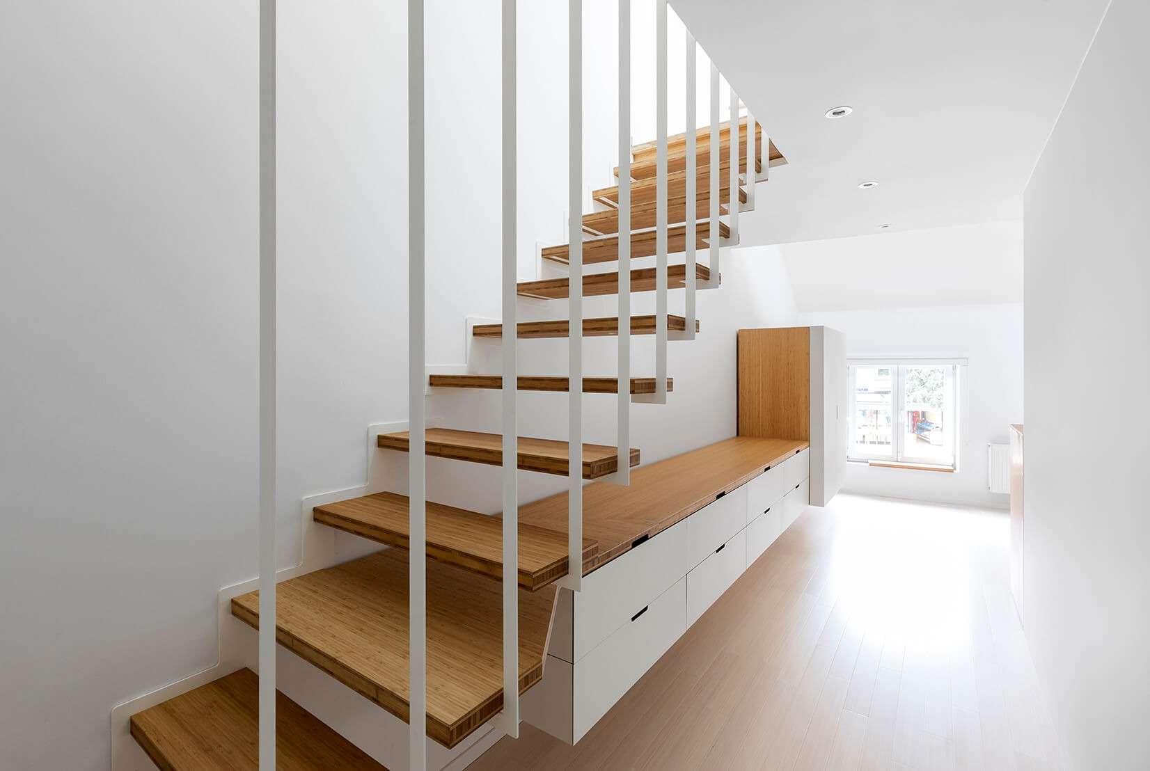 Escalier UP et dressing Pô sur mesure