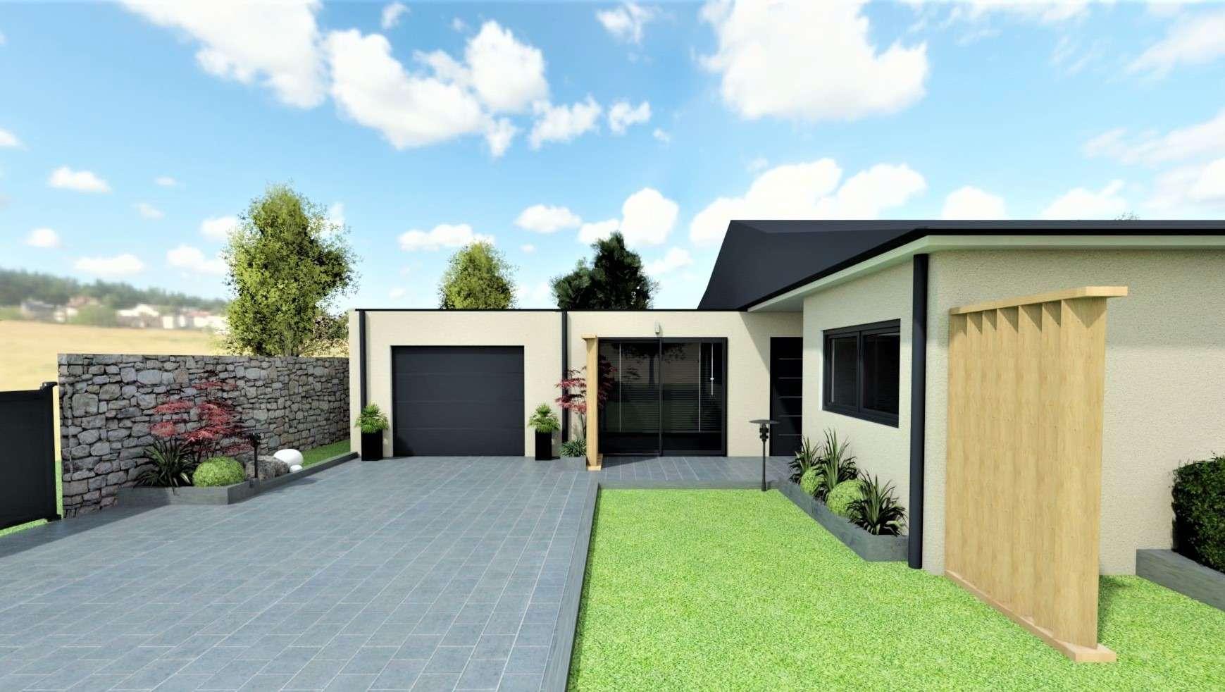 Maison en 3D autre vue