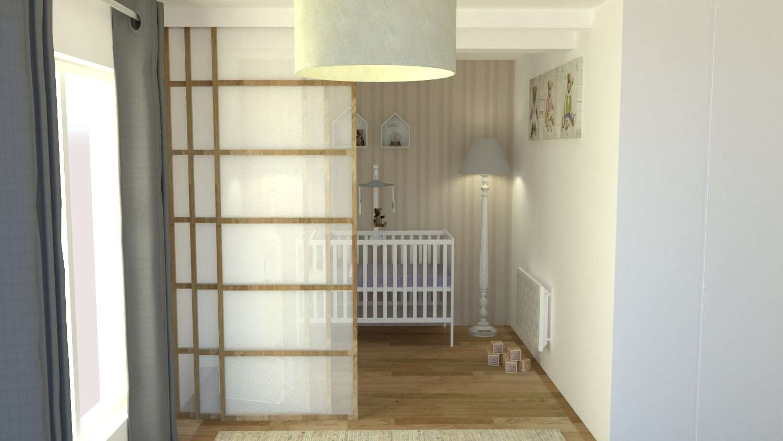 Création d'un espacé bébé dans la chambre parentale