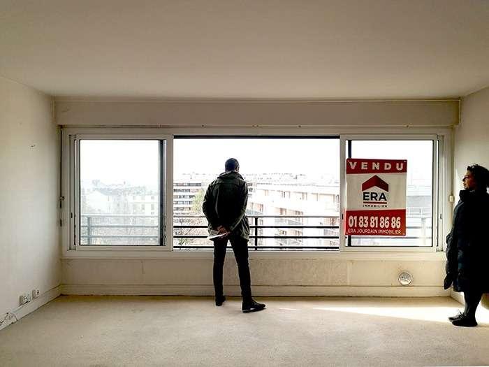 Vue de l'appartement avant les travaux
