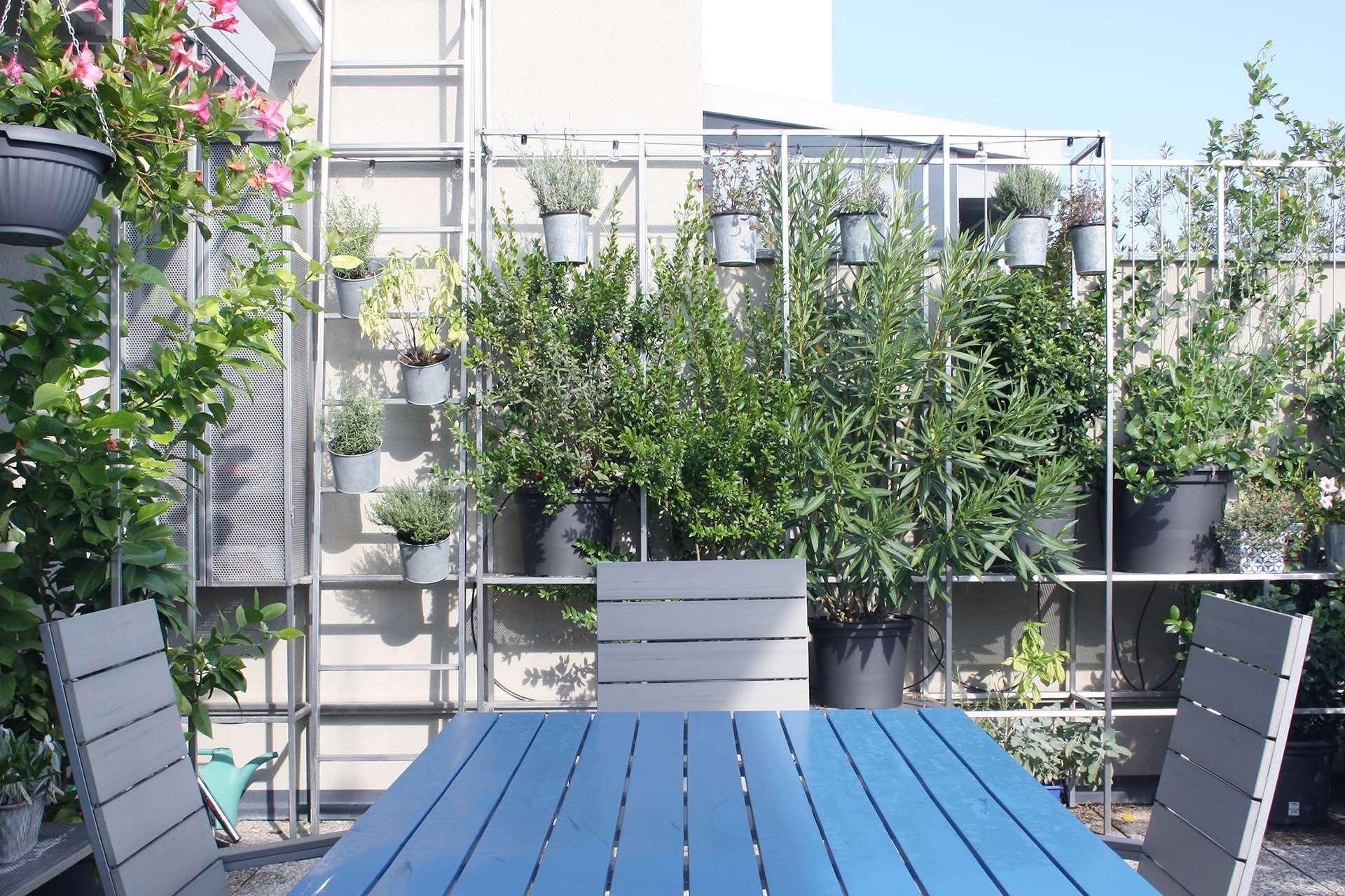 La terrasse en une véritable pièce de vie