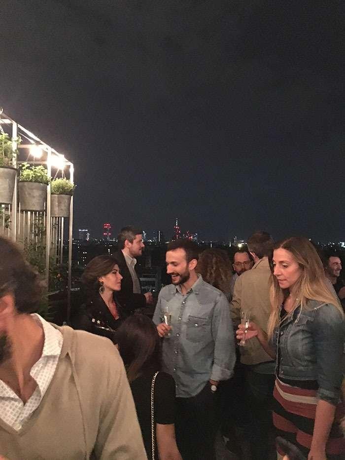 La terrasse est une véritable pièce de vie