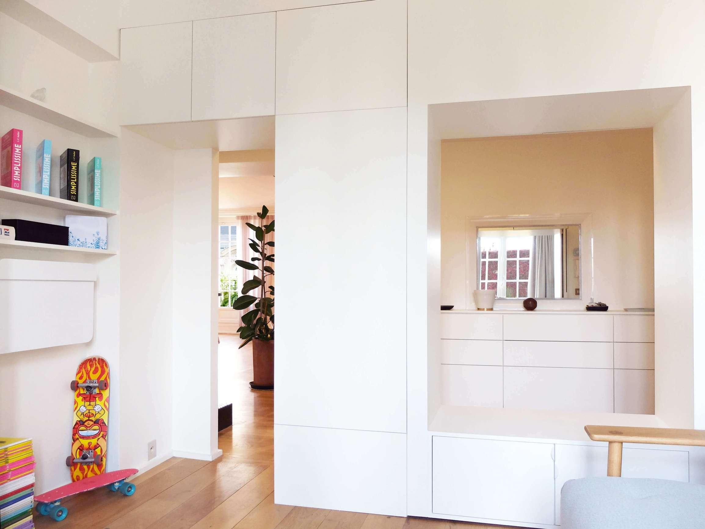 Chambre d'enfant avec mur modulable
