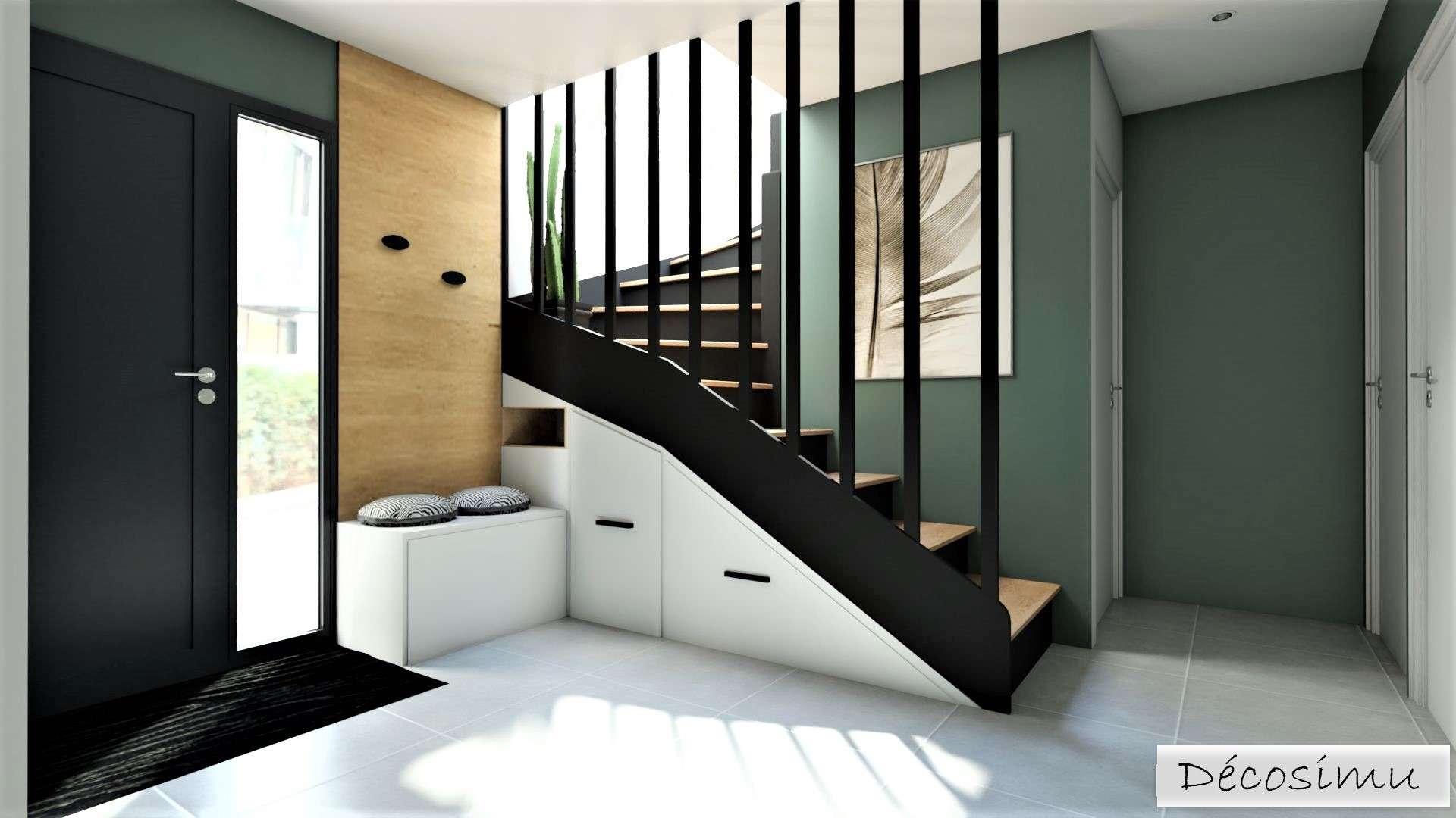 Vue sur l'escalier