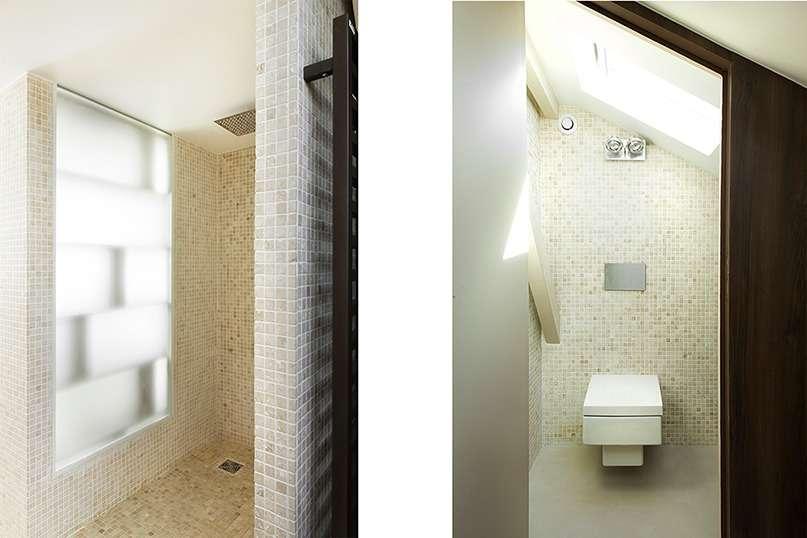 Douche et WC