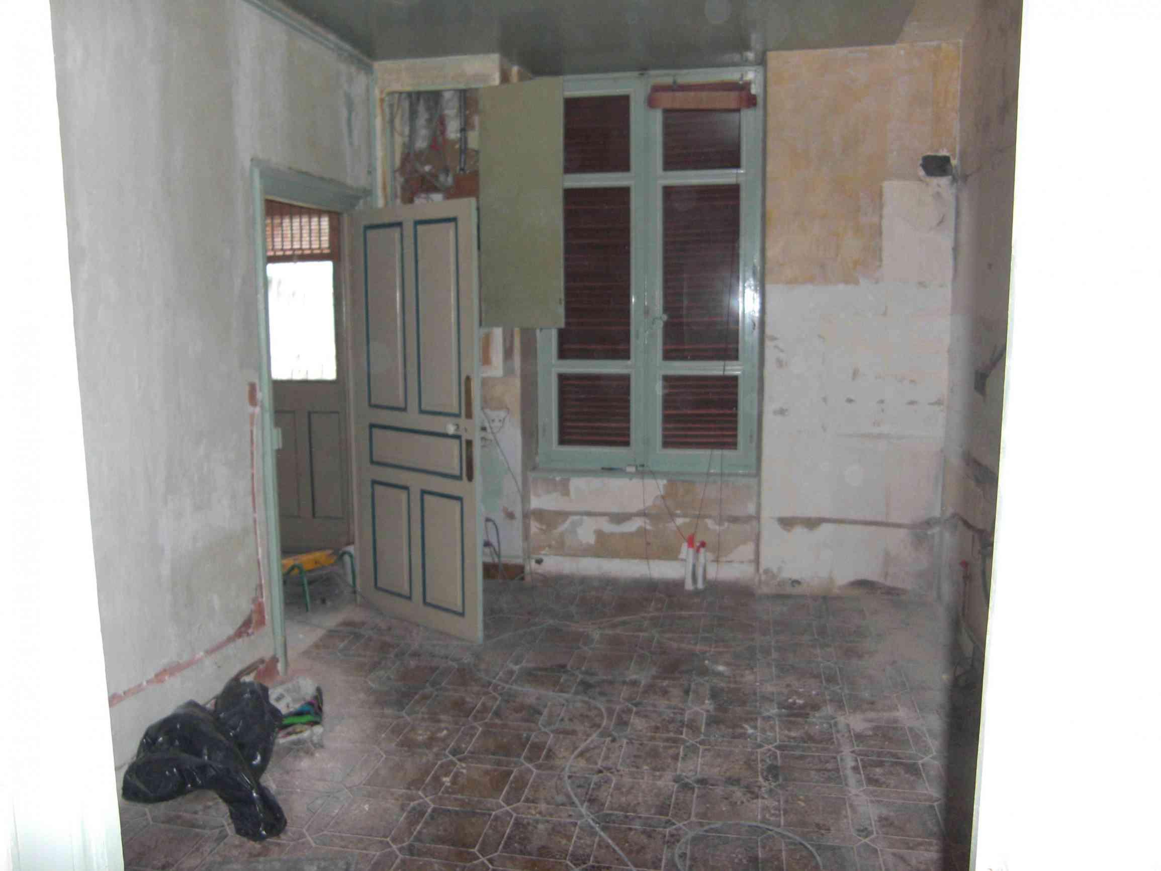 Rénovation de la cuisine (avant)