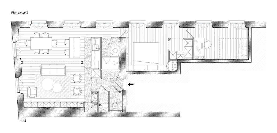 Appartement Saint Denis
