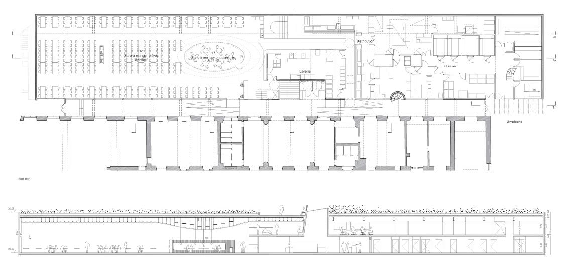 Restructuration du lycée La Bruyère de Versailles