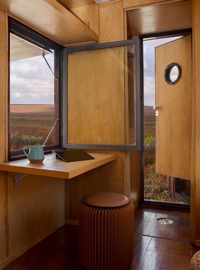 Vue intérieur Salon / bureau