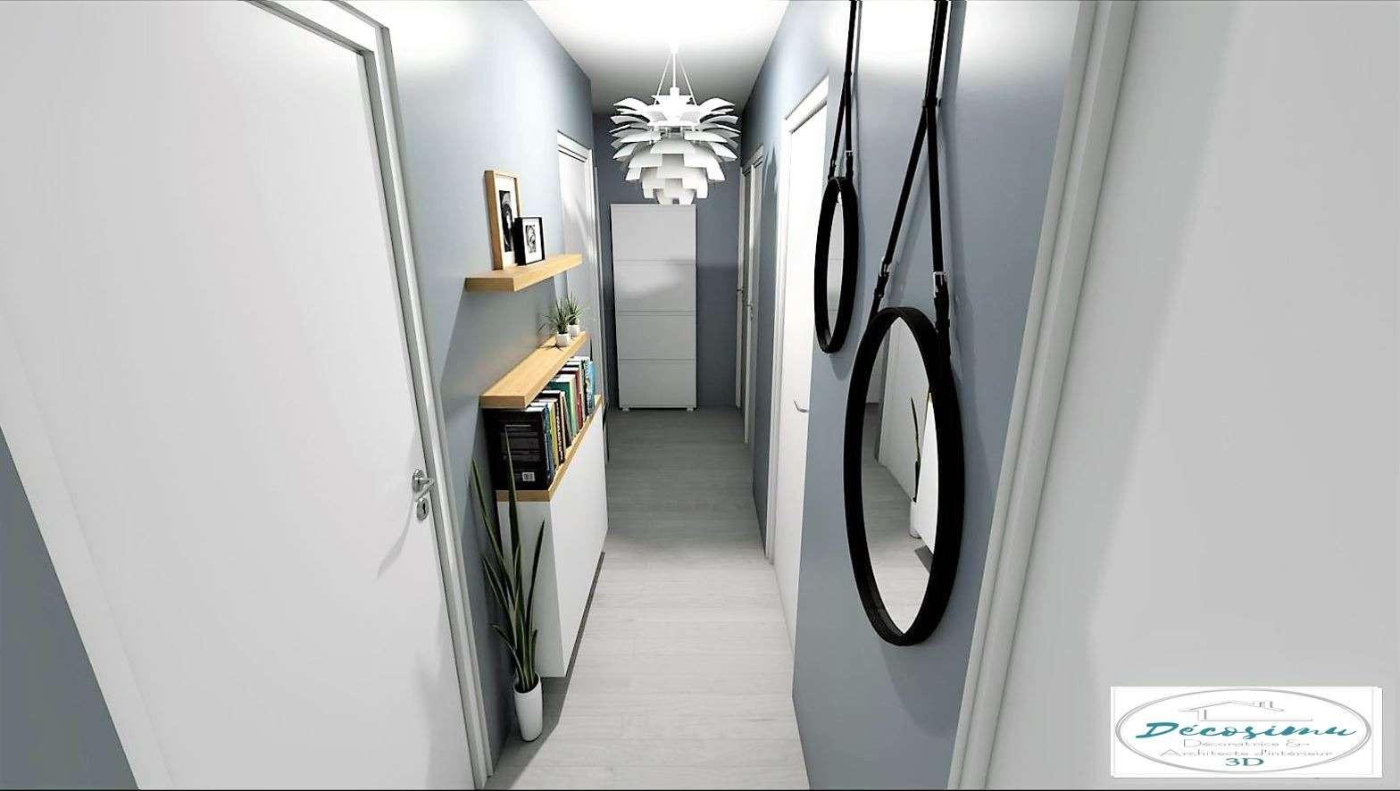 Aménagement et décoration d'un couloir