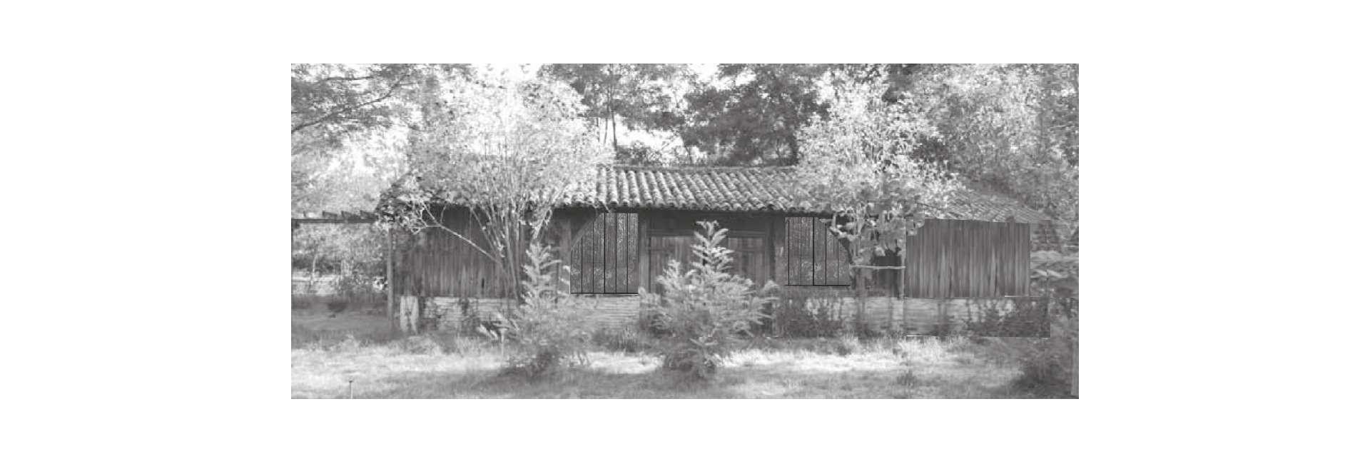 Photomontage de la grange