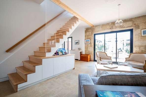 Un escalier 2 en 1