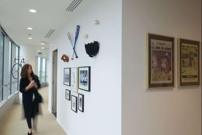 couloirs des sports