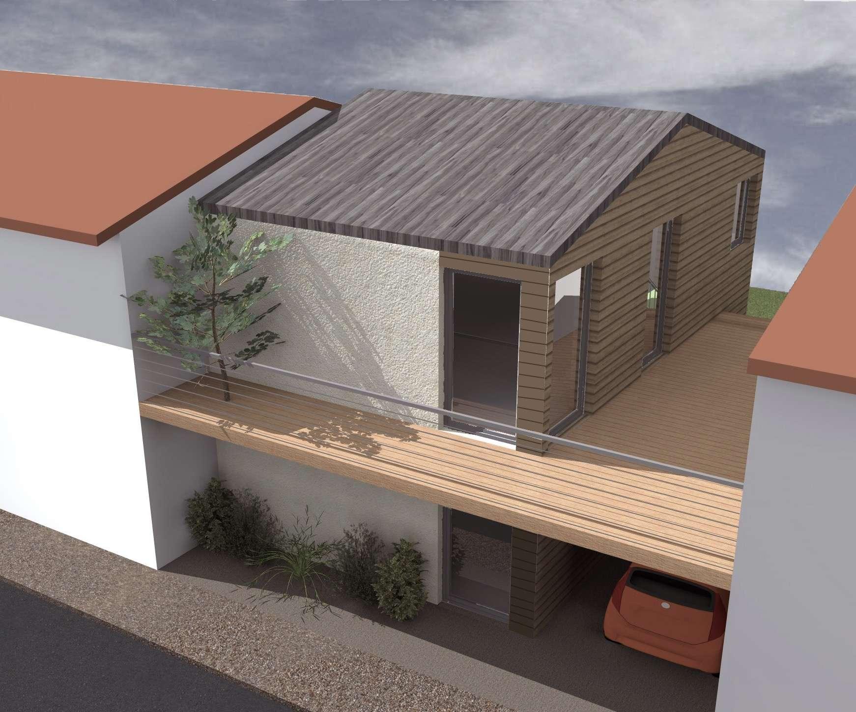 Maison de ville avec balcon