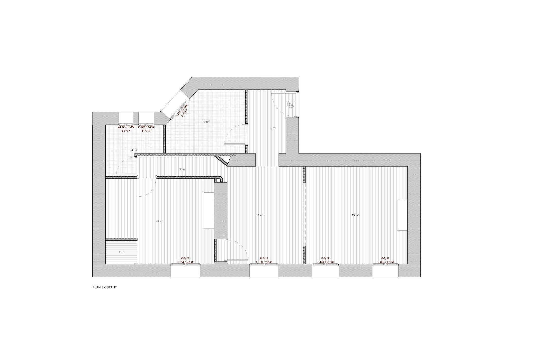 Réhabilitation complète de l'Appartement G
