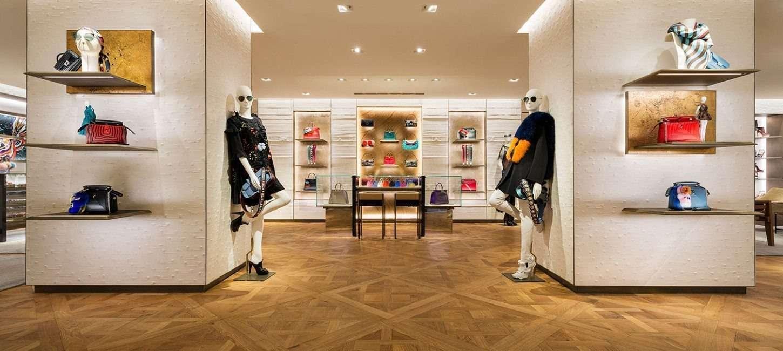 Boutiques de luxe :  le souci du détail