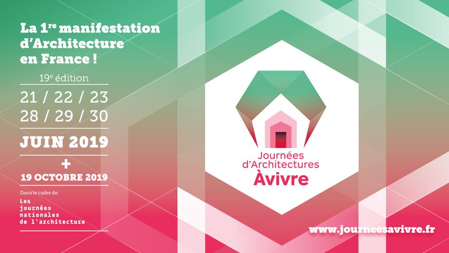 Participez à la 19e édition des Journées d'Architectures À Vivre !