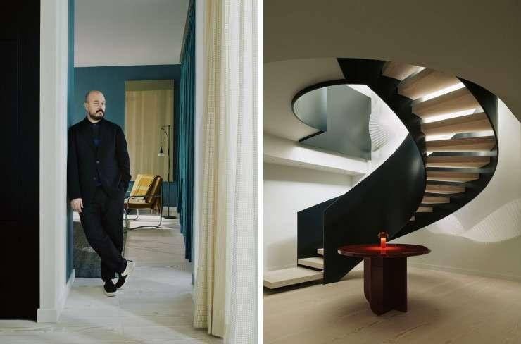 Les anciens locaux de la BBC transformés en penthouse par Waldo Works
