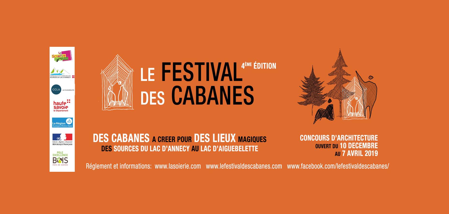 Concours d'architecture : Le Festival des Cabanes