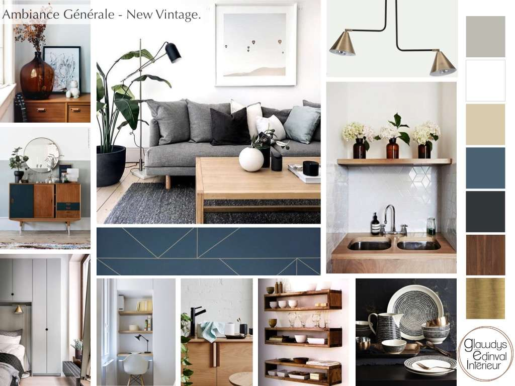 Planche d'ambiance New vintage