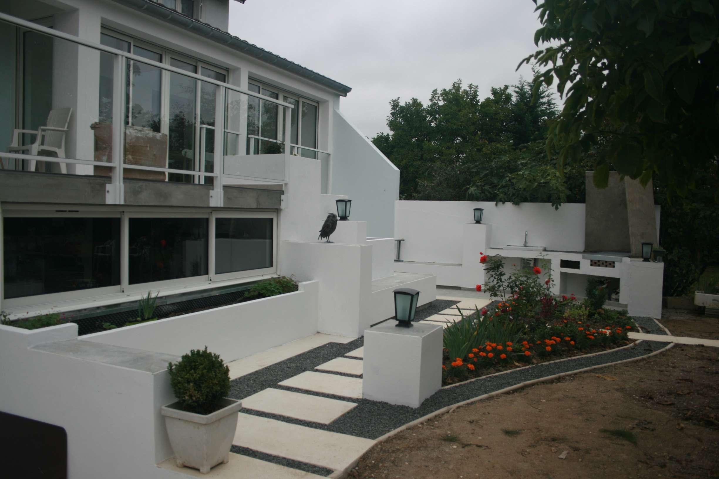 Extension et aménagement de jardin
