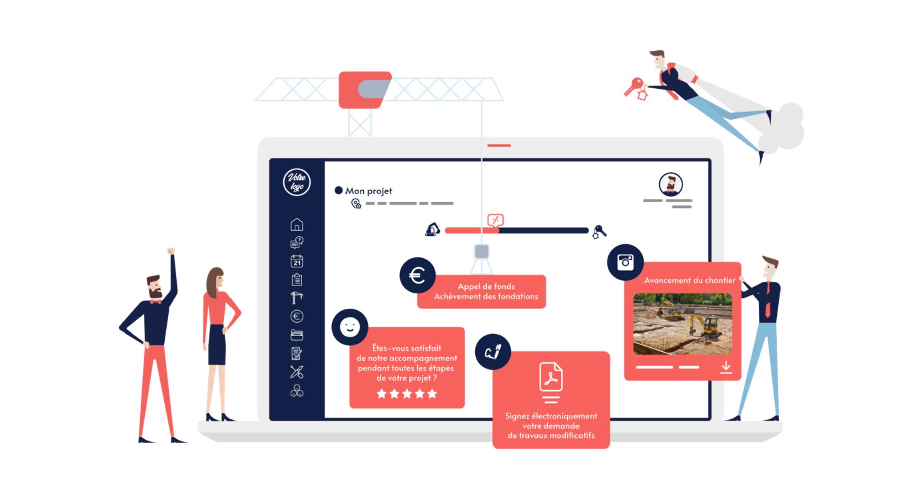 BuildWay : un espace client dédié aux projets des architectes