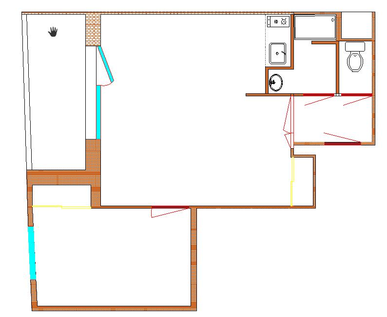 Plan actuel 2D