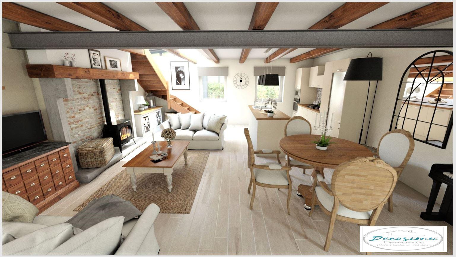 Style Maison De Campagne relooking 3d d'une ancienne maison en un style campagne chic