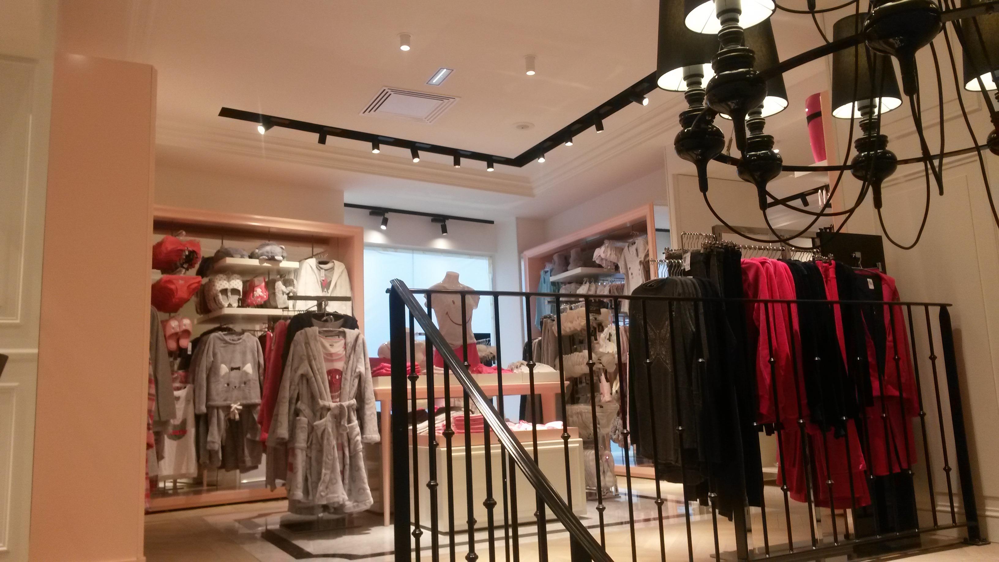 Boutique de lingerie Chaussée d'Antin