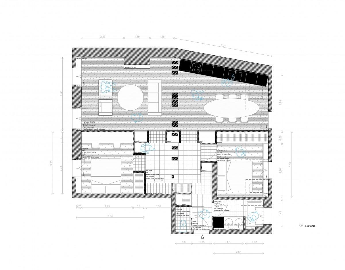 Réhabilitation complète de l'Appartement L