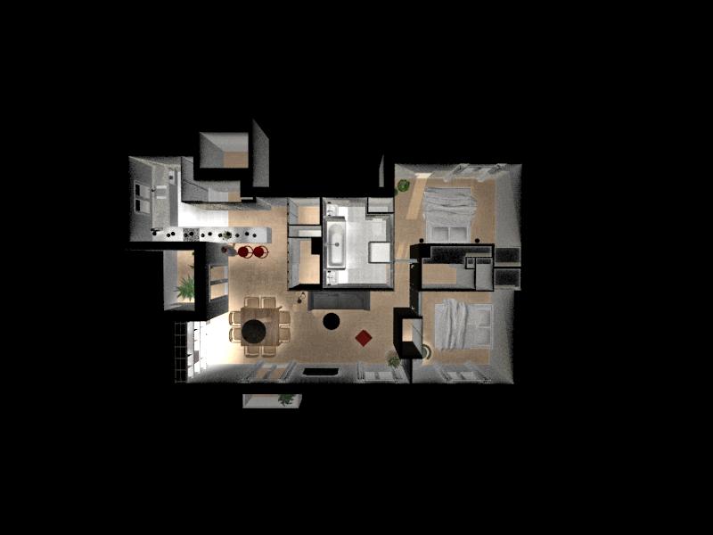 Réhabilitation complète de l'Appartement C