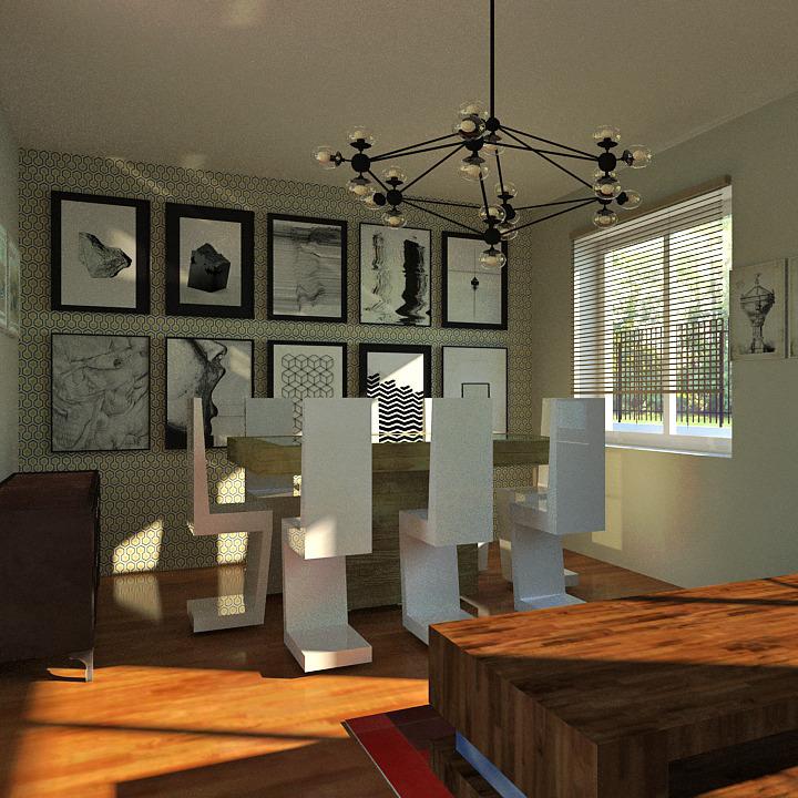 r novation d 39 une maison des ann es 70 jeunes archi. Black Bedroom Furniture Sets. Home Design Ideas